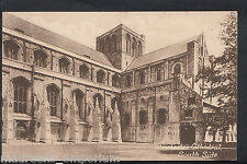 Hampshire Postcard - Winchester Cathedral - South Side      RT1483