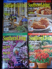 Lot of 4 NEW 2010 SOUTHERN LIVING Magazines COOKING DECOR TRAVEL AWARDS
