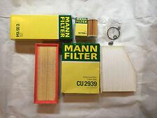 MANN-FILTER FILTER SET ÖLFILTER LUFTFILTER POLLENFILTERVW TOURAN 1T3 1.6 2.0 TDI