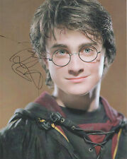 DANIEL RADCLIFFE Signed 10x8 Photo HARRY POTTER COA