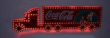 Coca-Cola camion Natale Christmas WEIHNACHTS TRUCK  with lights -fully operating