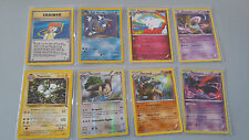 POKEMON TCG CARD GAME CARTE lotto di 8