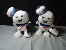 Ghostbusters Soft Plush Stay Puft Marshmallow Man Happy And Angry Faces