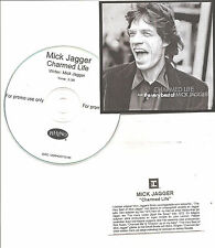 "MICK JAGGER ""CHARMED LIFEthe very best of MICK JAGGER"" Swedish Acetate PROMO  CD"