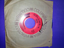 JOHNNY CASH * SAN QUENTIN & A BOY NAMED SUE * 45 RPM