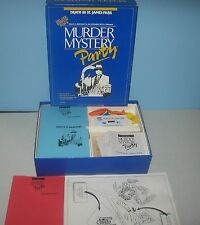 1986 Murder Mystery Party: Death in St James' Park Party Game for 6 Players