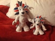 Collectable Two Team GB Pride The Lion Mascots