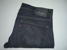 Mens LEVI'S STRAUSS & CO. 511 Dark Blue Slim Fit Stretch Denim Jeans W36 L32