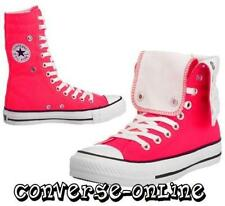 Womens Girls CONVERSE All Star NEON PINK KNEE X HI TOP Trainers Boots  UK SIZE 5