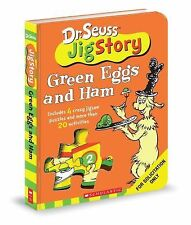 Dr. Seuss Green Eggs and Ham Puzzle Story (2009, Childrens Book)