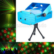 Mini LED R&G Stage Laser Projector Lighting Disco Party DJ Light Music Active UK