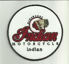 INDIAN SCOUT MOTORCYCLE BIKERS JACKET CLOTH PATCH CAFE RACER HOG Chopper