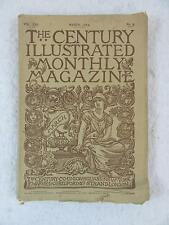 Vintage THE CENTURY ILLUSTRATED MONTHLY MAGAZINE March 1883