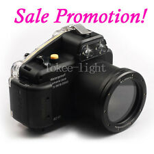 Underwater Waterproof  Housing Camera Case for Sony NEX-5N 18-55mm Lens Camera