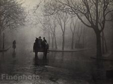 1920/72 Surreal 11x14 HORSE & CARRIAGE City Street Hungary Photo ~ ANDRE KERTESZ