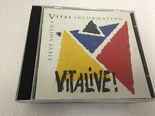 Vitalive! 2002 CD by Steve Smith 4011687205127 NR MINT