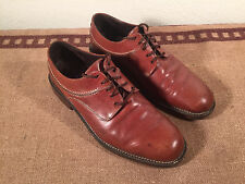 Cole Haan Country Lace up Oxfords Brown Leather Men's 9 D Clean