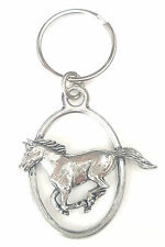 Running Horse Handcrafted from Solid English Pewter In the UK Key Ring