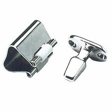 Chromed Brass Roll Lock Door Catch - 33mm Height
