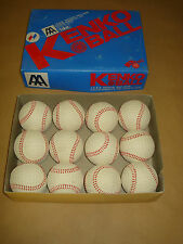 NAGASE RUBBER KENKO 9.0 A AIR SAFETY BASEBALLS - ONE DOZEN – NEW - ORIGINAL