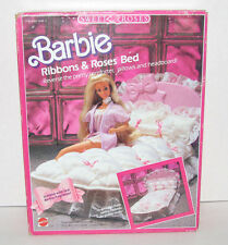 Barbie Ribbons & Roses Bed Sweet Roses New 1987 Mattel