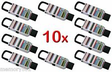 NEW Lot 10 SanDisk Cruzer U Clip 16GB USB Flash Drive Thumb Pen Memory Stick 16