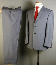 M&S SARTORIAL SUIT 38S 34W 31L GREY WOOL