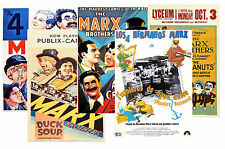 MARX BROTHERS - SET OF 5 - A4 POSTER PRINTS # 1