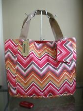 NWT FRANCO SARTO Flipping Out Reversible Tote Bag - Red Ziggy FREE SHIP