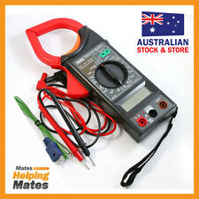 DIGITAL CLAMP METER WITH BUILT-IN THERMOMETER AC/DC LT