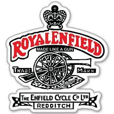 Custom Made Like A Gun Tank pad Sticker for Royal Enfield(bike tank pad)