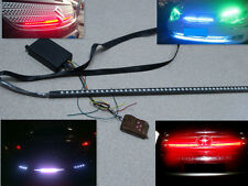 multi 7 color RGB 48LED Knight Night Rider Light Scanner LED Strips 12V + Remote