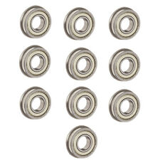 10PCS flange bush F623ZZ 3x10x4mm Miniature deep groove ball bearing 3*10*4mm