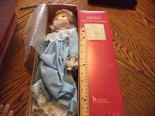 "Brinn's, ""Everything is Beautiful"" Doll, plays MUSIC, 15"" COA orginal packaging"