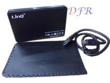 BOX ESTERNO PER HARD DISK 2,5 SATA CASE HD 2,5 USB 3.0 & 2.0 PLASTICA U3-2505