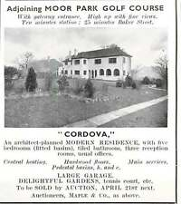1937 Adjoining Moore Park Golf Course, Cordova For Sale