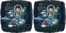 """NEW Disney Miles From Tomorrowland SUPER STELLAR Printed 17"""" Foil Balloons ~ 2ct"""