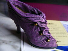 Just the right shoe 25113 Cloaked in Mystery Miniatur Schuh Deko cool
