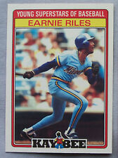 1986 Kaybee EARNIE RILES BREWERS LOT OF 2