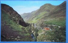 POSTCARD ABERDEENSHIRE GLEN COE - LOOKING INTO THE GORGE