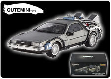 HOT WHEELS ELITE 1/43 BACK TO THE FUTURE TIME MACHINE X5493 DMC DELOREAN SILVER