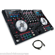 Numark NV Professional USB MIDI MP3 Controller + 4-Channel Mixer + Serato DJ