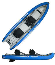 Aquaglide Rogue Sit-on-Top Tandem Inflatable Kayak for 1-2 paddlers with Case
