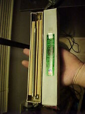 "12 NOS Nicholson 8"" X 5/16""  Chainsaw Round  Double Cut 02084 Metal Files In BOX"