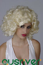 Fashion Sweet Lady Women Hair Full Wig Cos Marilyn Monroe Party Costume