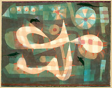 Paul Klee Reproduction: The Barbed Noose with the Mice - Fine Art Print