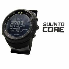 NEW 2016 Suunto Core All Black Military Outdoor Sports Watch SS014279010