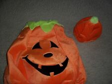 TODDLER - PUMPKIN FACE WITH HAT - ADORABLE - USED