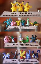 USA Seller Cosplay 50 pc random POKEMON Figures 1 inch 2-3 cm Cute Mini Figure