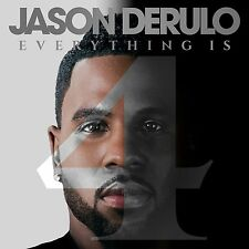 JASON DERULO - EVERYTHING IS 4: CD ALBUM (June 1st 2015)